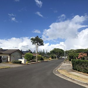 Kupuku Circle in Mililani